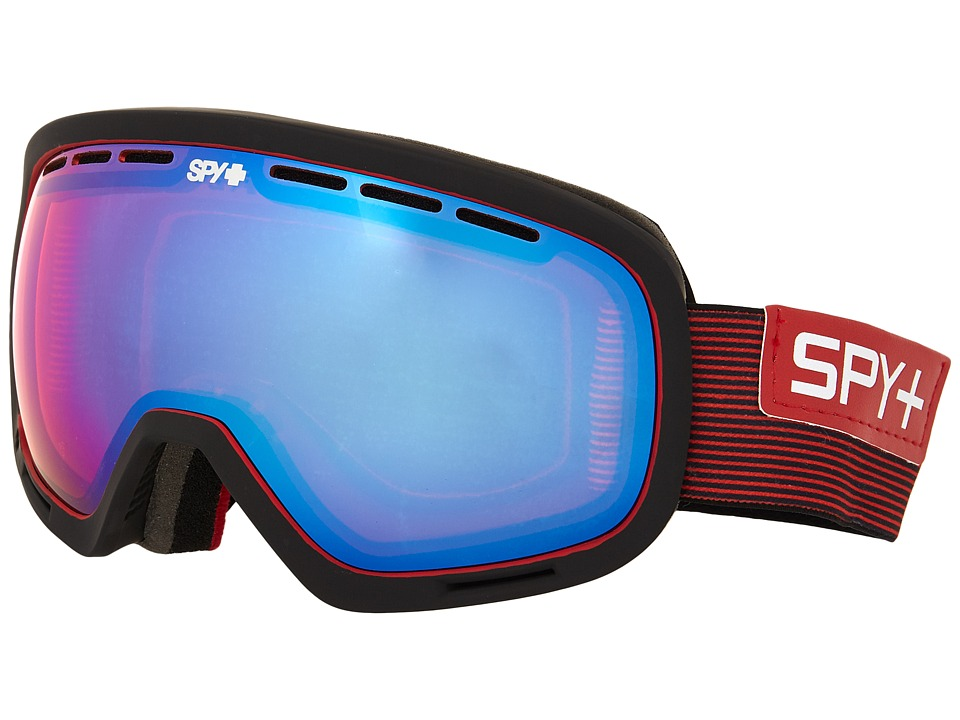 Spy Optic - Marshall (Galactic Red/Pink Contact/Bronze/Silver Mirror) Snow Goggles