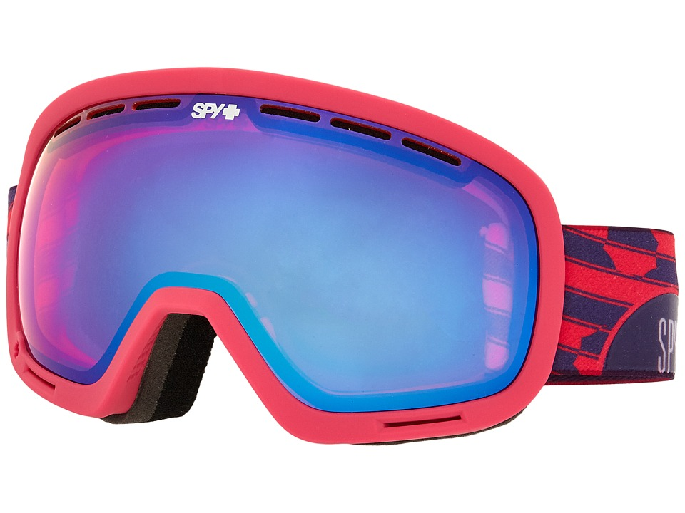 Spy Optic - Marshall (Raspberry Swirl/Pink Contact/Bronze/Silver Mirror) Snow Goggles