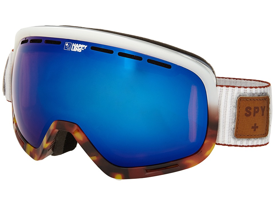 Spy Optic - Marshall (Salt Tort/Happy Rose/Dark Blue Spectra/Happy Bronze) Snow Goggles