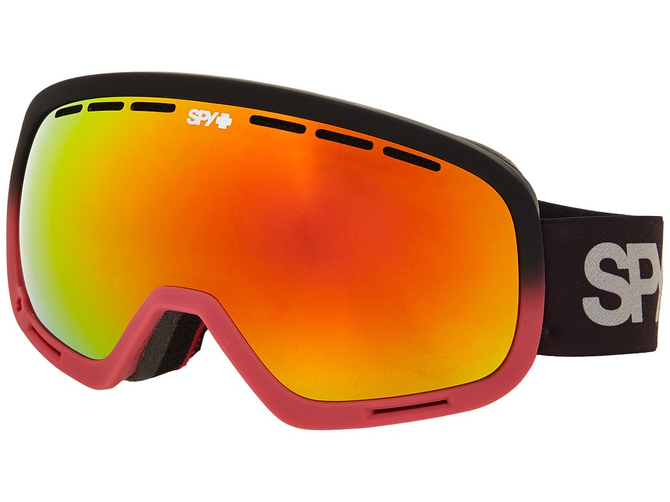 Spy Optic - Marshall (Red Fade/Bronze/Red Spectra/Persimmon Contact) Snow Goggles