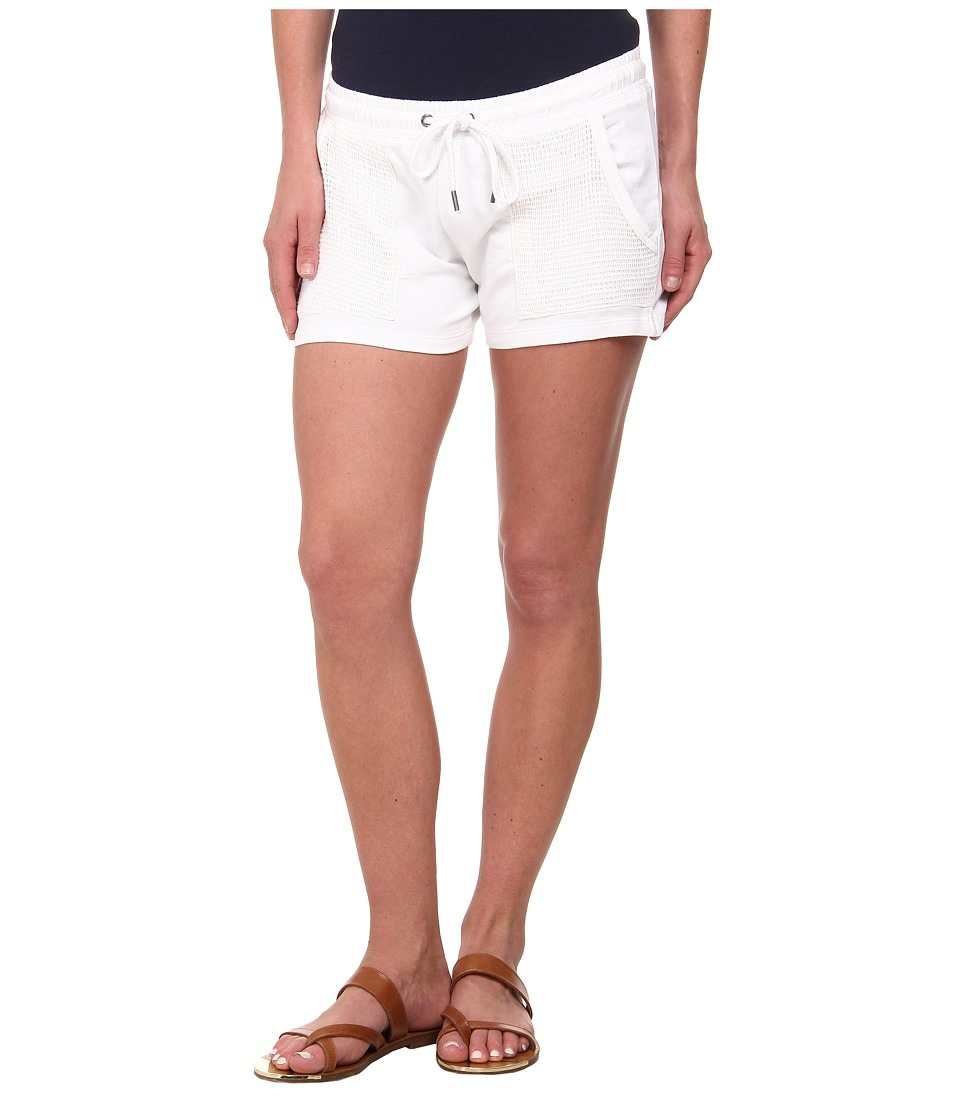 Lucky Brand - Mesh Mixed Shorts (Lucky White) Women