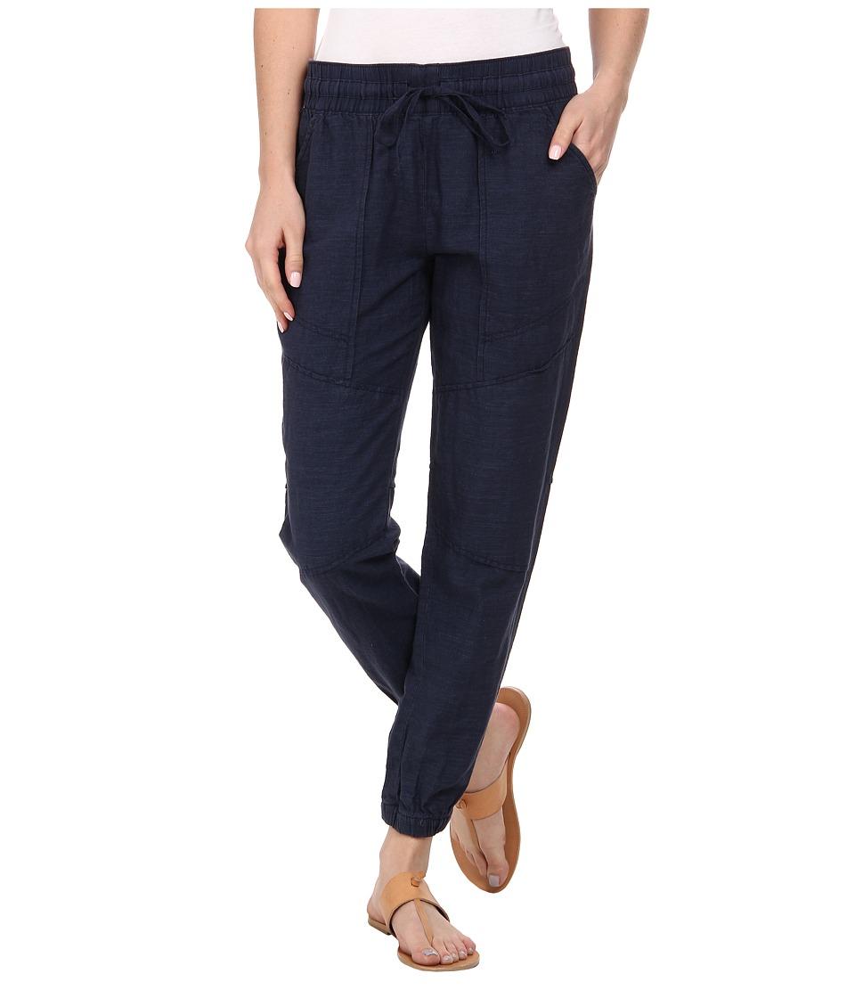 Lucky Brand - Linen Jogger (American Navy) Women's Casual Pants