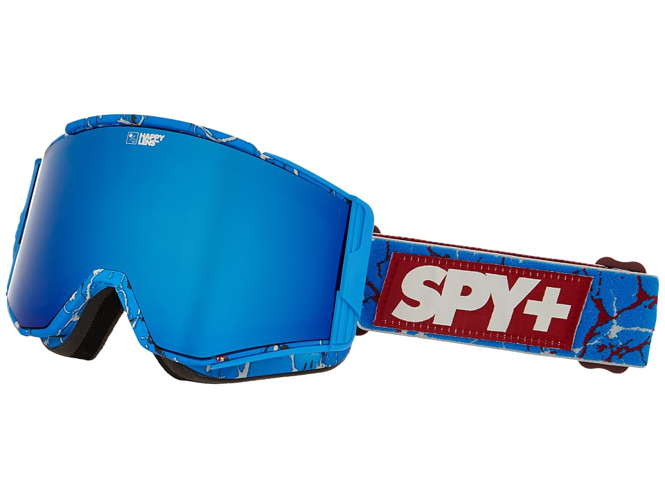 Spy Optic - Ace (Spy/Louie Vito/Happy Bronze/Dark Blue Spectra/Happy Persimmon) Goggles