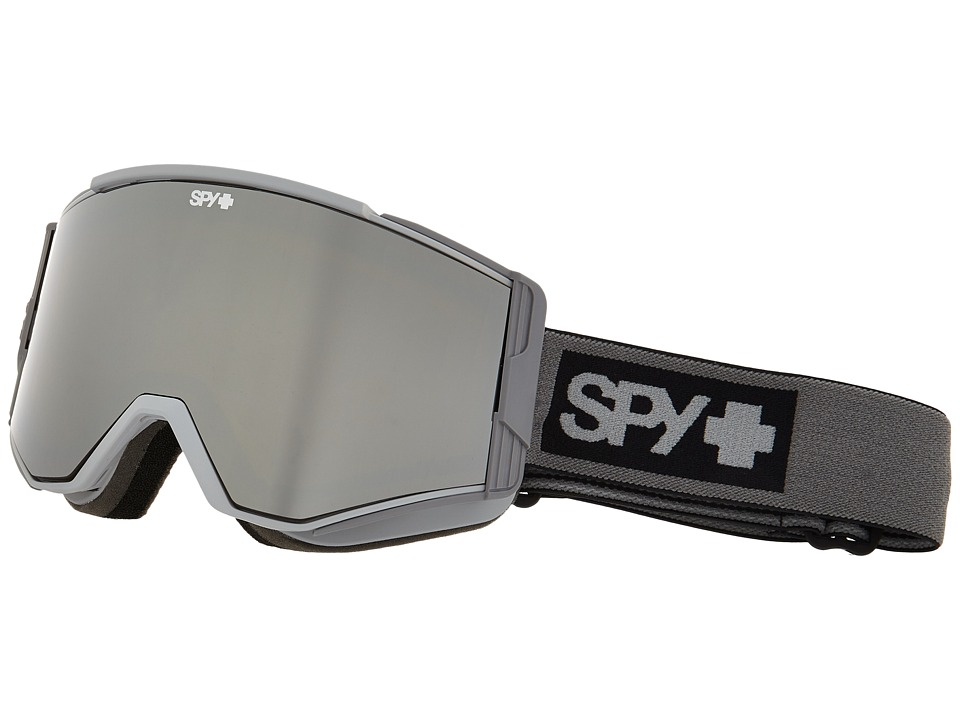 Spy Optic - Ace (Elemental Gray/Bronze/Silver Mirror/Yellow) Goggles