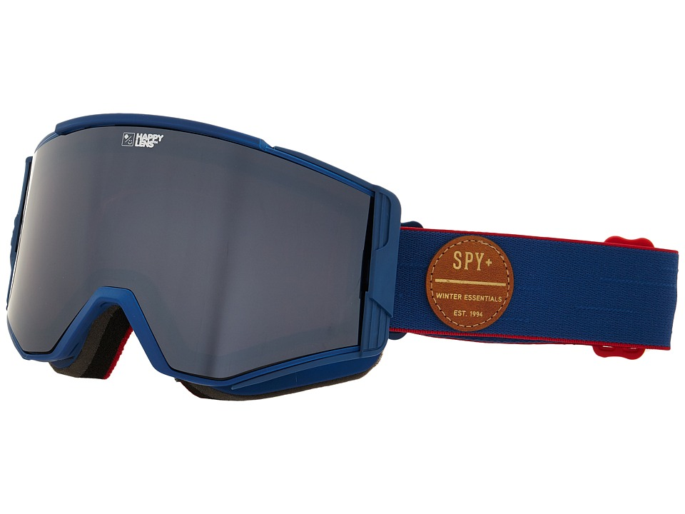 Spy Optic - Ace (Heritage Navy/Happy Bronze/Silver Mirror/Happy Persimmon) Goggles