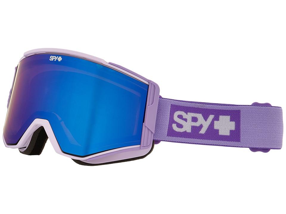 Spy Optic - Ace (Elemental Lavender/Bronze/Dark Blue Spectra/Blue) Goggles