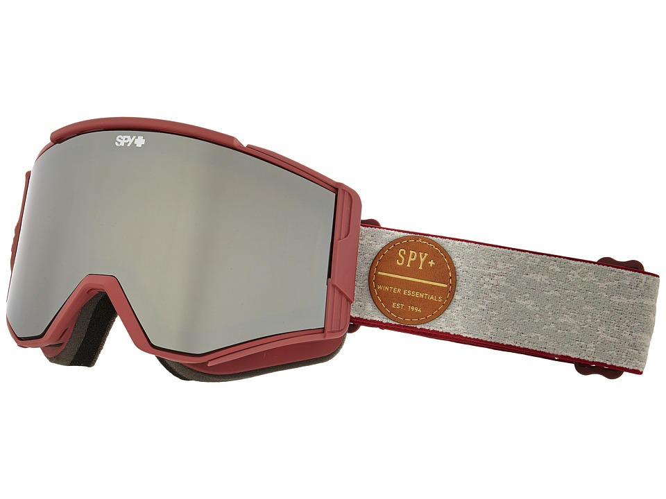 Spy Optic - Ace (Heritage Red/Bronze/Silver Mirror/ Persimmon) Goggles