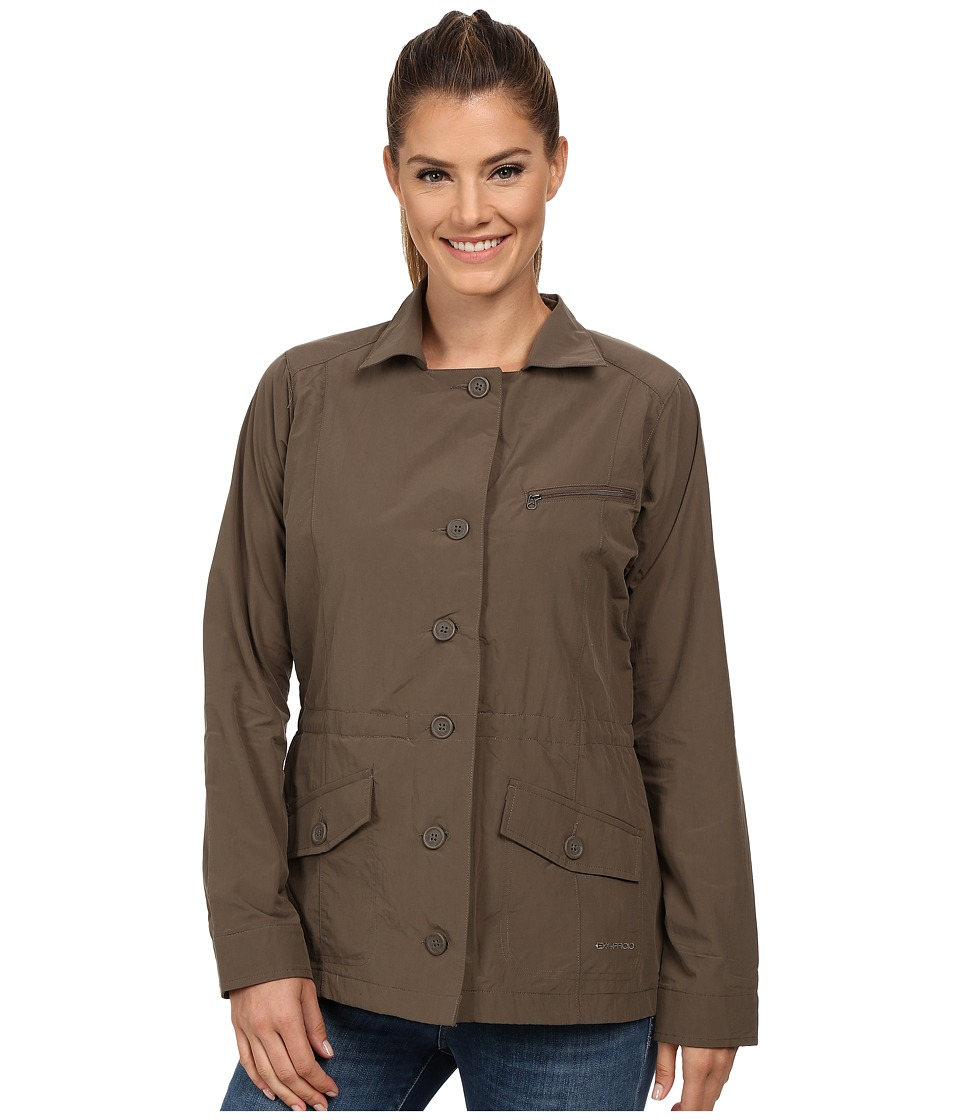 ExOfficio - Round Trip Jacket (Cigar) Women's Coat