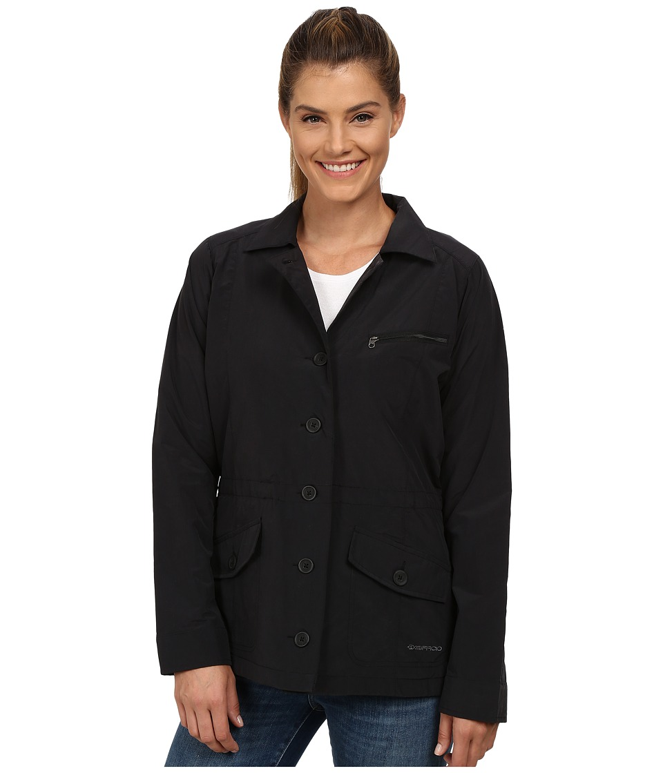 ExOfficio - Round Trip Jacket (Black) Women's Coat