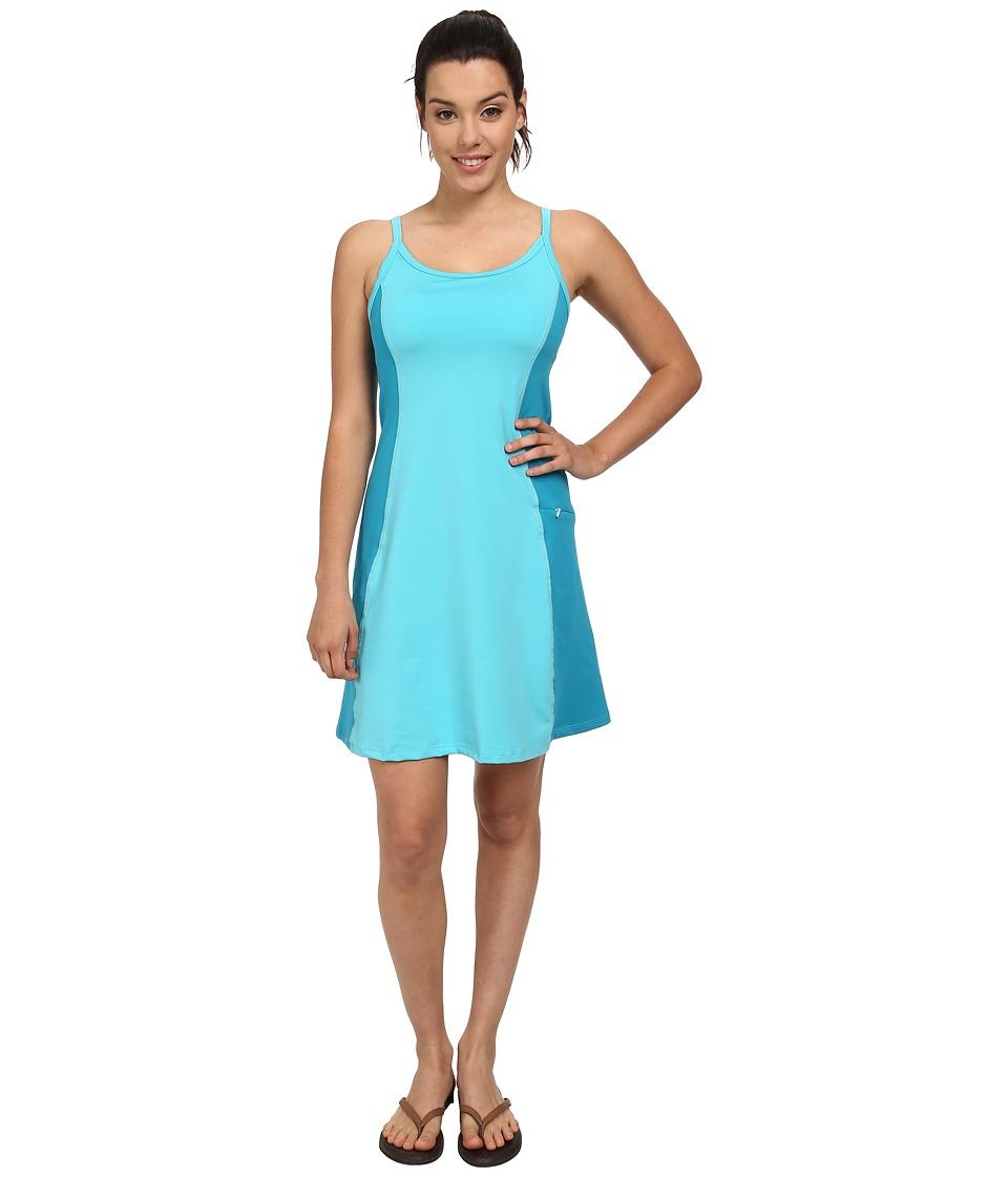 Stonewear Designs - Ladderback Dress (Robin Egg) Women's Dress