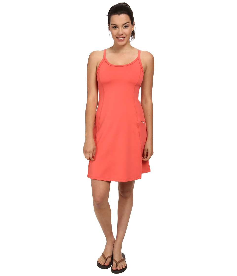 Stonewear Designs - Ladderback Dress (Watermelon) Women's Dress