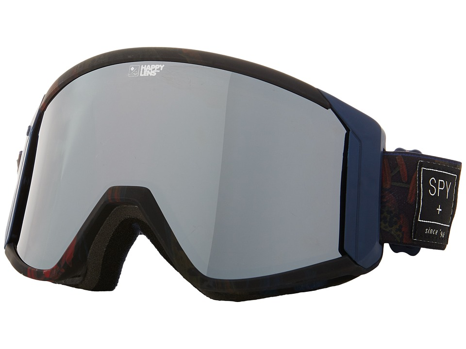 Spy Optic - Raider (Spy/Darrell Mathes/Happy Bronze/Silver Mirror/Blue) Snow Goggles
