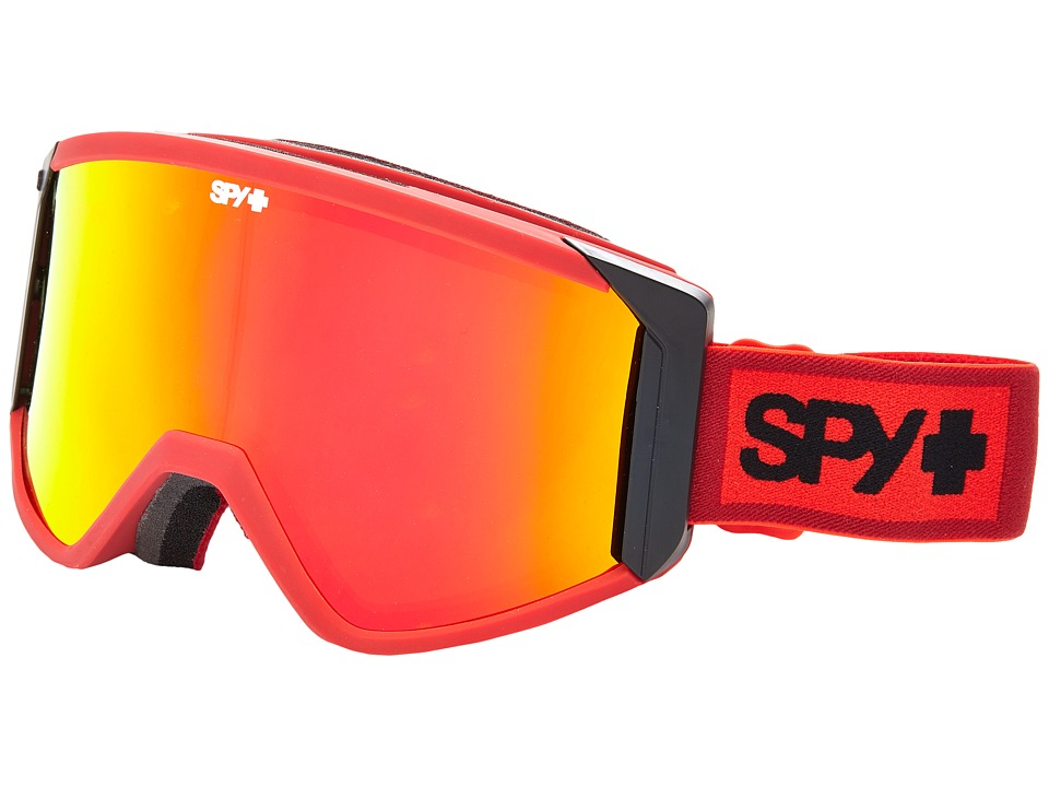 Spy Optic - Raider (Elemental Red/Bronze/Red Spectra/Persimmon) Snow Goggles