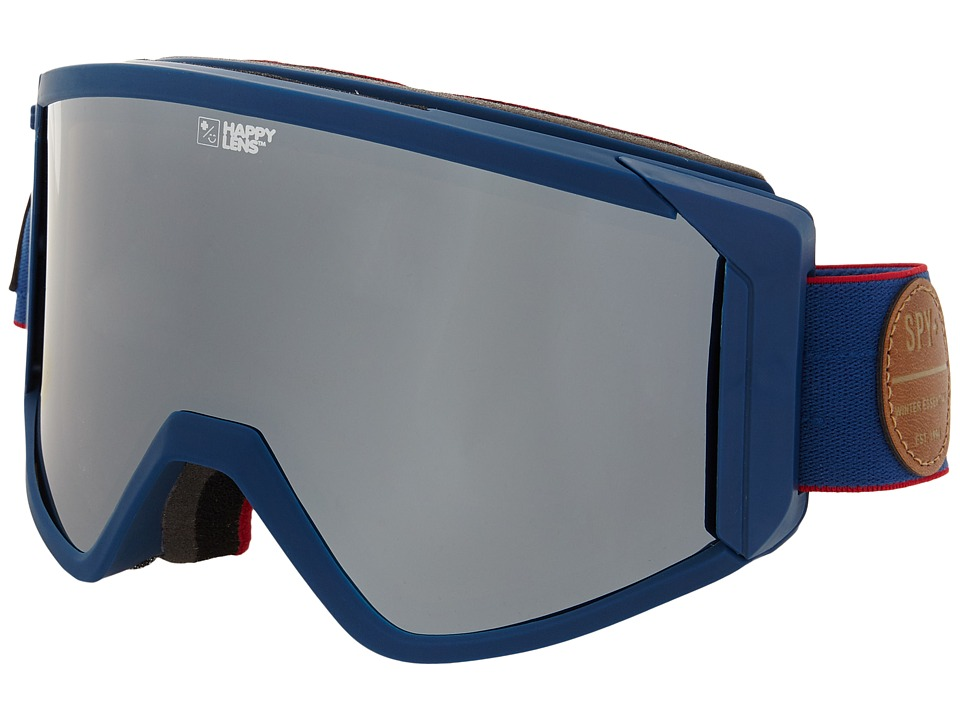 Spy Optic - Raider (Heritage Navy/Happy Bronze/Silver Mirror/Blue) Snow Goggles