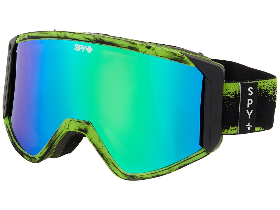 Spy Optic - Raider (Masked Green/Bronze/Green Spectra/Yellow) Snow Goggles