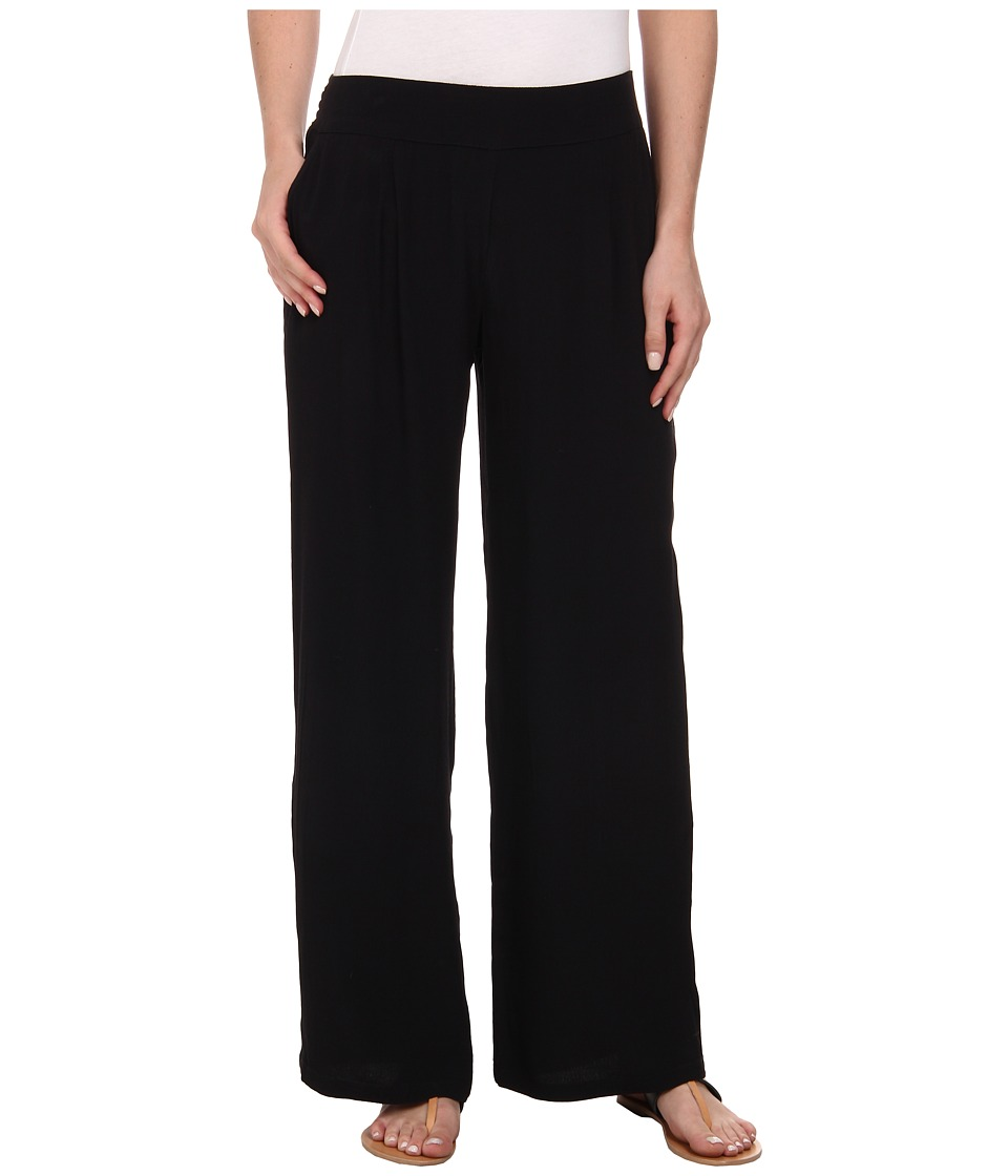 Lucky Brand - Wide Leg Pants (001 Lucky Black) Women's Casual Pants