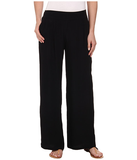Lucky Brand - Wide Leg Pants (001 Lucky Black) Women