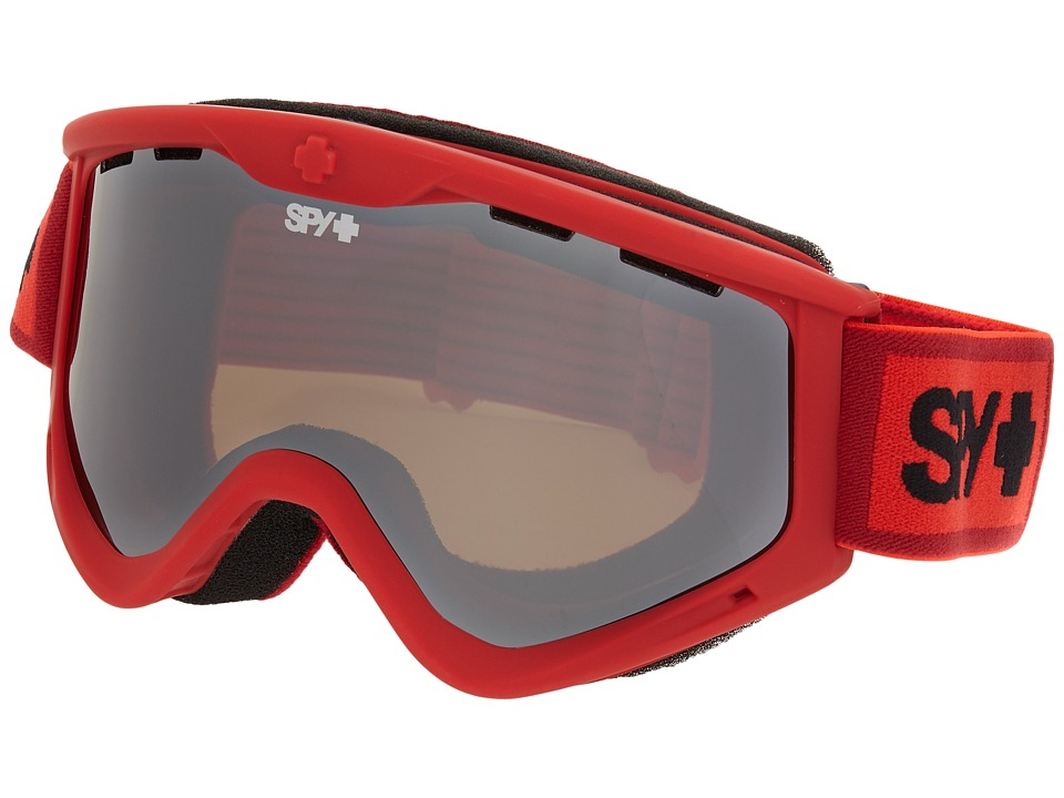 Spy Optic - Targa 3 (Elemental Red/Bronze/Silver Mirror/Persimmon) Snow Goggles