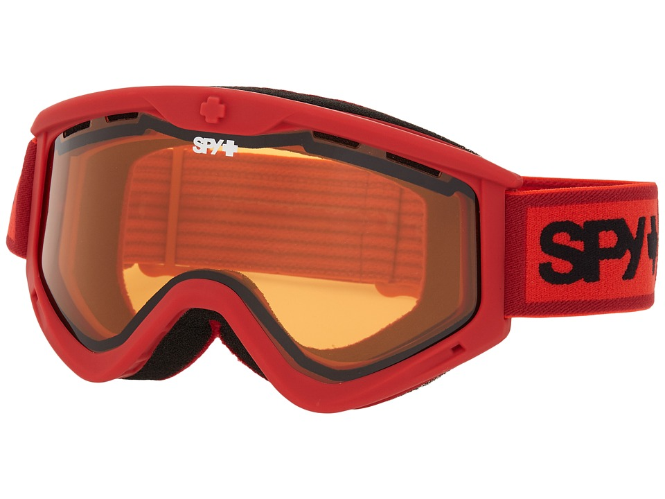 Spy Optic - Targa 3 (Elemental Red/Persimmon) Snow Goggles