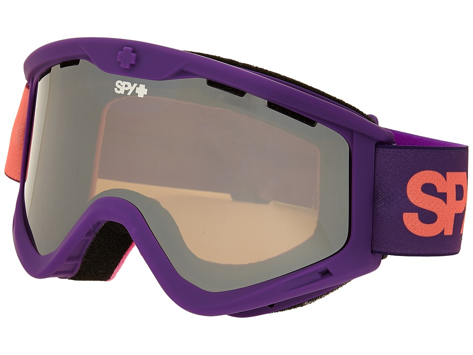 Spy Optic - Targa 3 (Purple Fade/Bronze/Silver Mirror) Snow Goggles