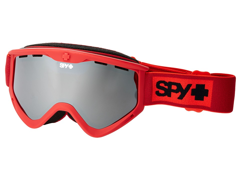 Spy Optic - Targa 3 (Elemental Red/Bronze/Silver Mirror) Snow Goggles