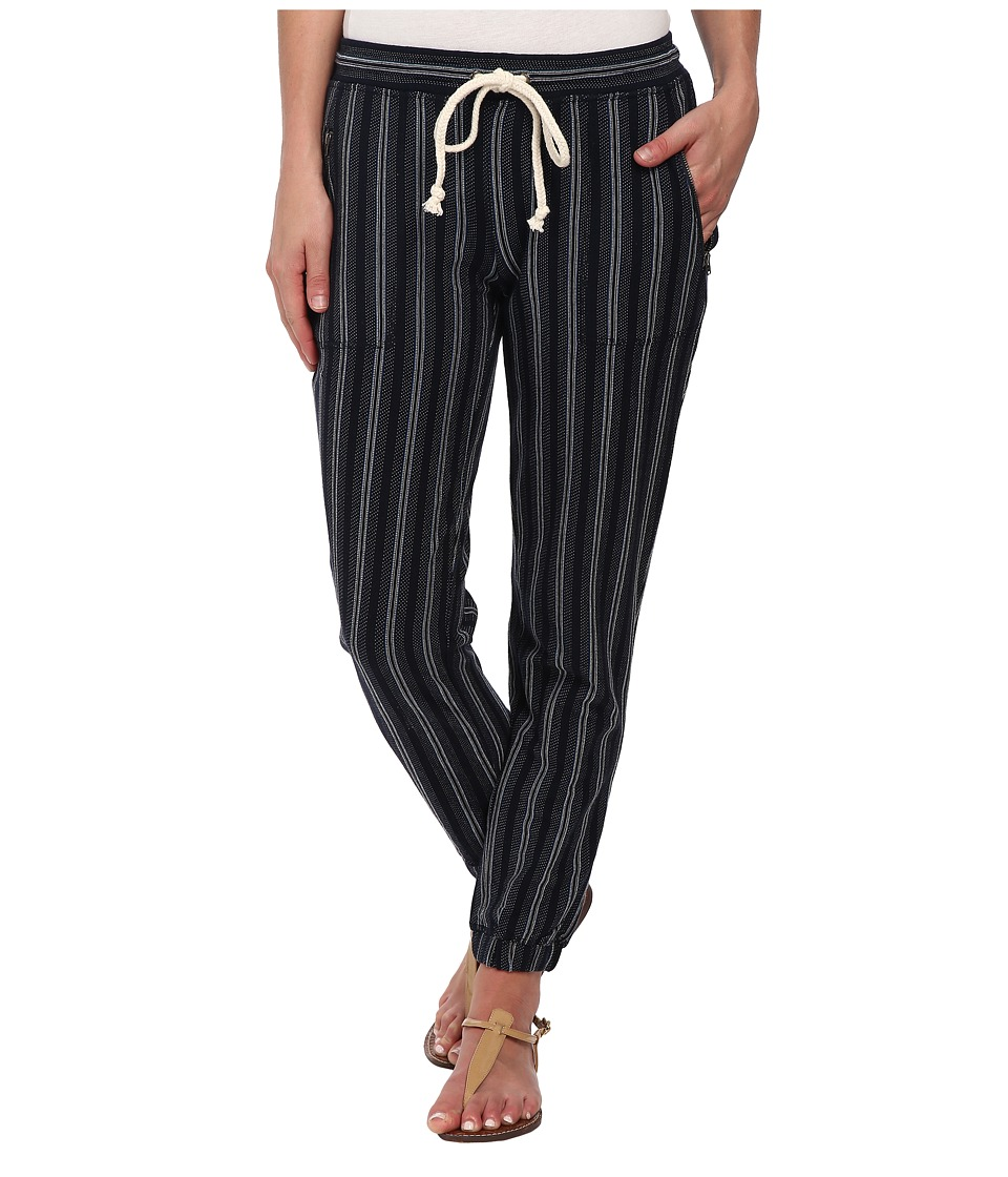 Lucky Brand - Novelty Stripe Jogger Pant (Blue Multi) Women's Casual Pants