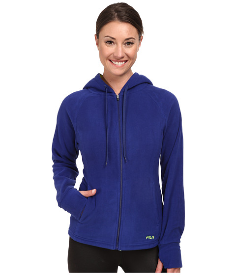Fila - Comfy Jacket (Twilight/Safety Yellow) Women