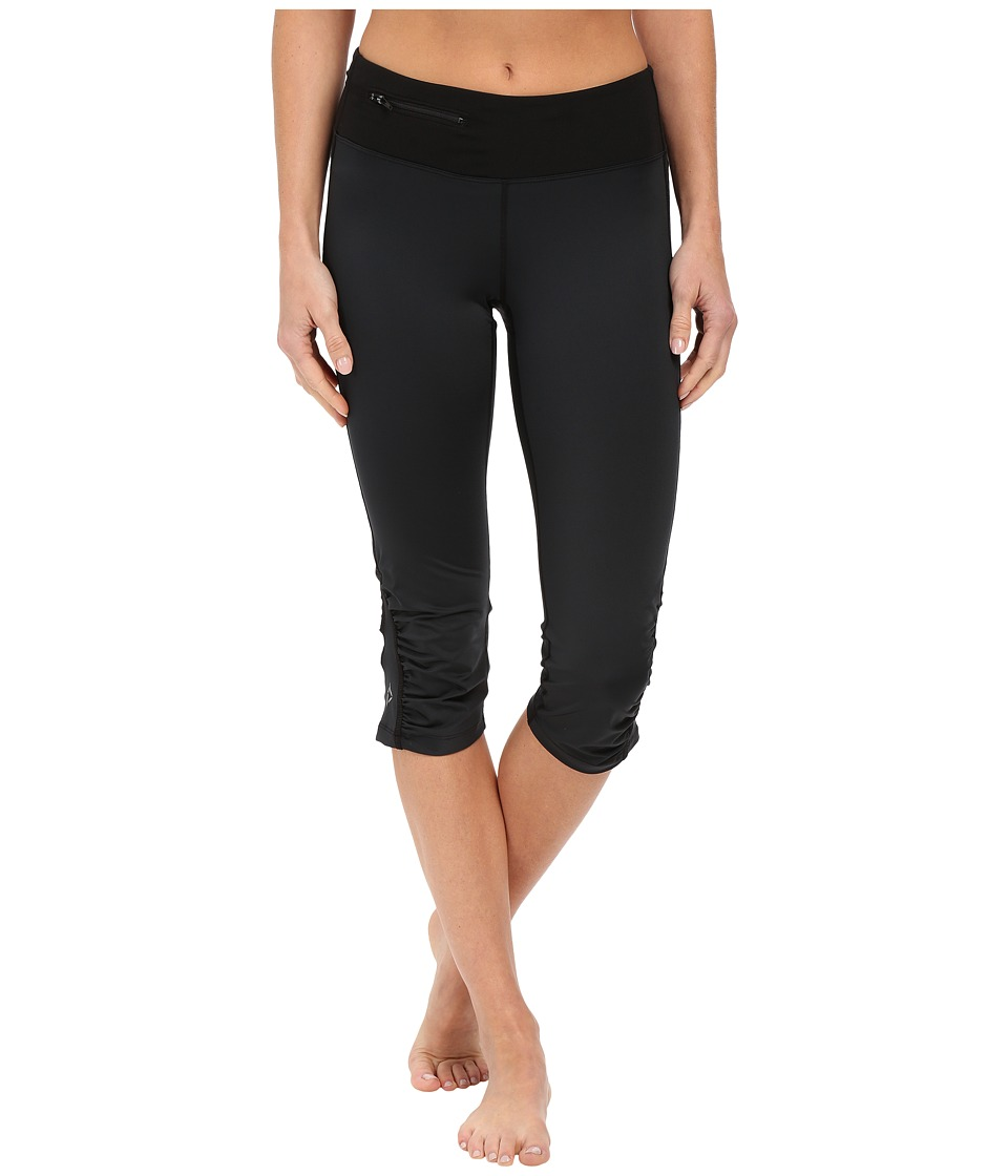 Stonewear Designs - Sprinter Capris (Black) Women's Capri