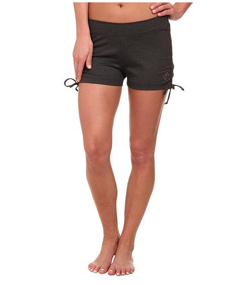 Stonewear Designs - Hot Yoga Shorts (Heather Gray) Women
