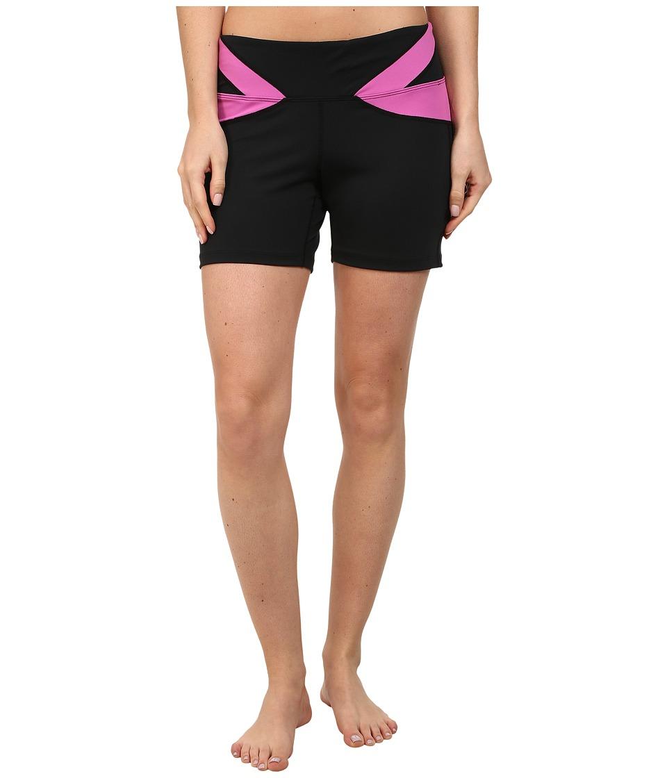 Stonewear Designs - Vibe Shorts (Black/Tryst) Women's Shorts