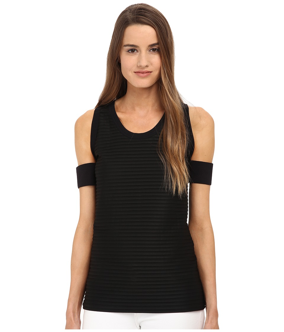 Neil Barrett - PNJE460 (Black/Black) Women's Sleeveless
