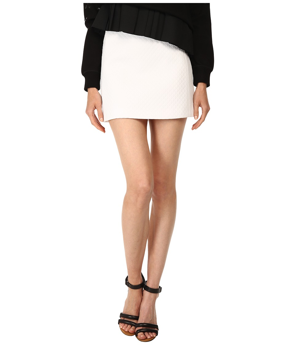 Neil Barrett - PNG095V (White) Women's Skirt