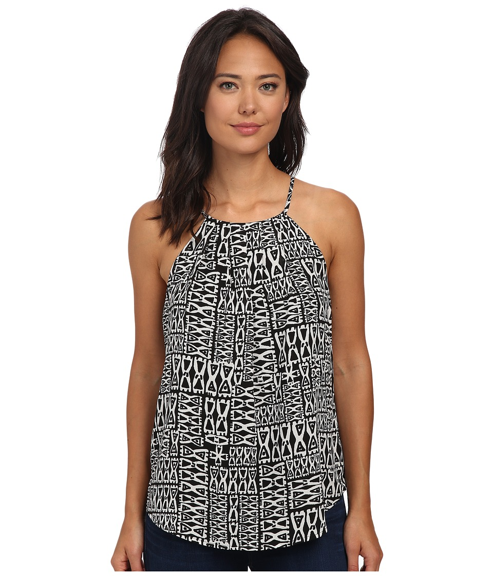 Sanctuary - Origami Shell Top (Black/White Tiki) Women