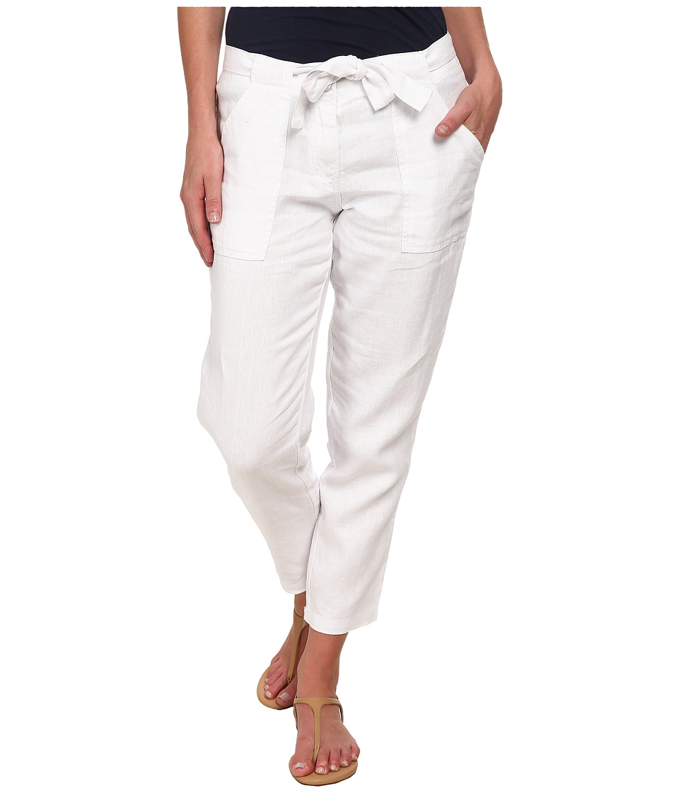 Sanctuary - New Tapered Sash Pants (White) Women's Casual Pants