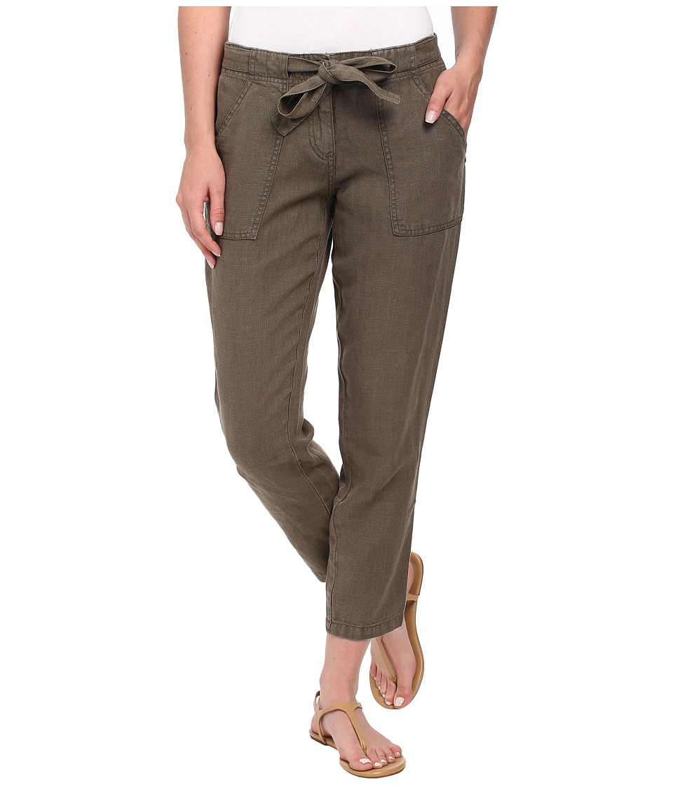 Sanctuary - New Tapered Sash Pants (Brown Olive) Women's Casual Pants