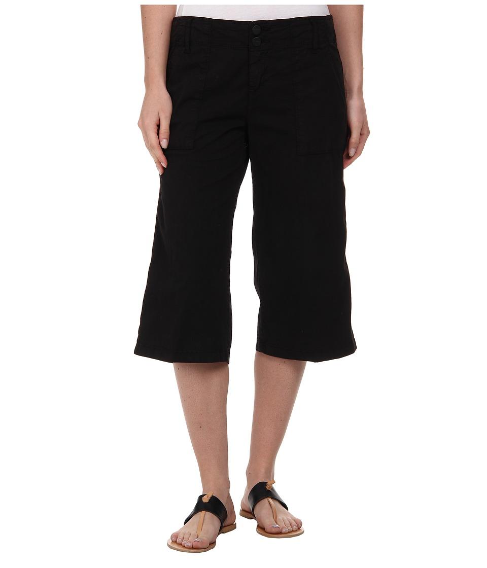 Sanctuary - Surplus Culotte Pants (Black) Women's Casual Pants
