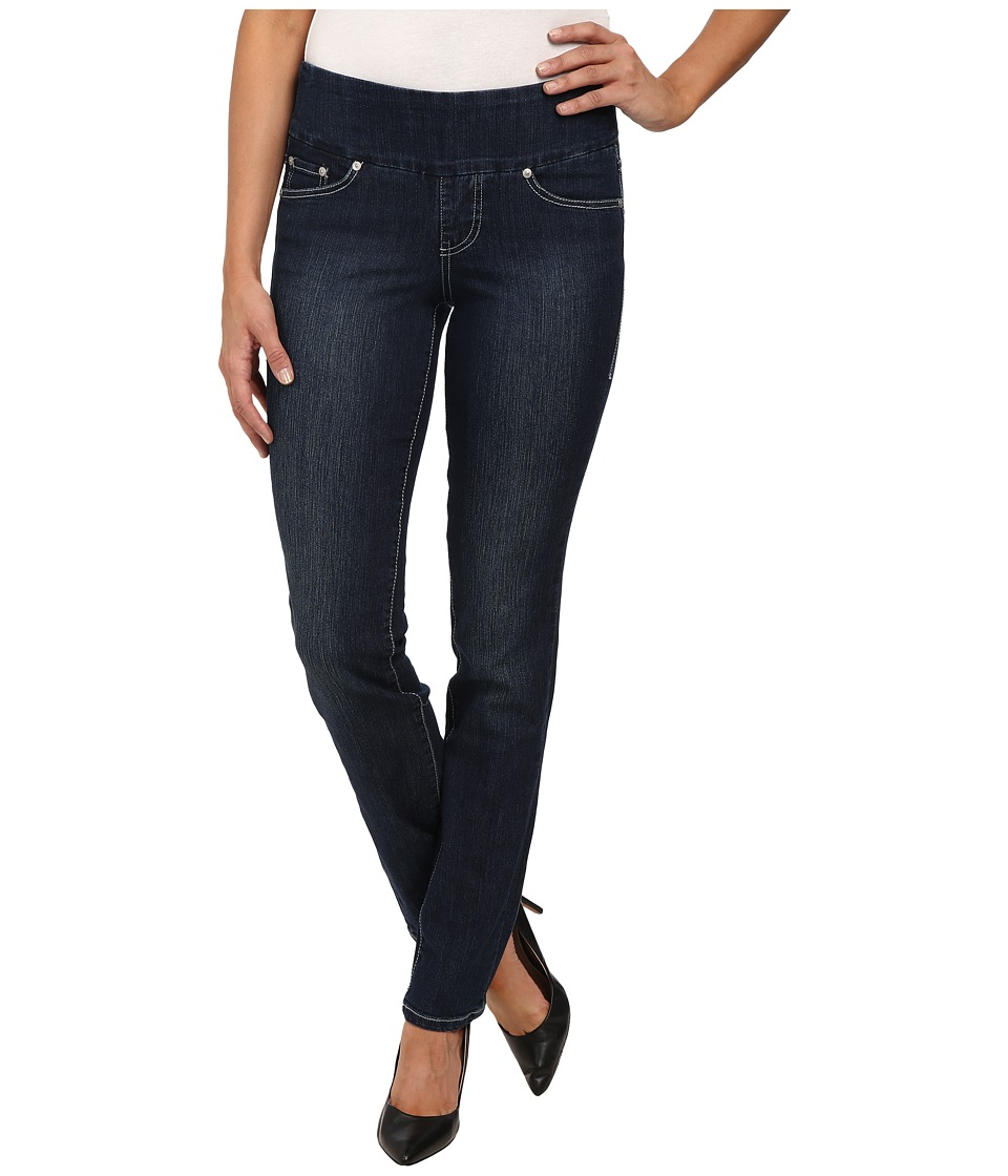 Jag Jeans - Odessa Pull-On Straight Comfort Denim in Blue Shadow (Blue Shadow) Women's Jeans