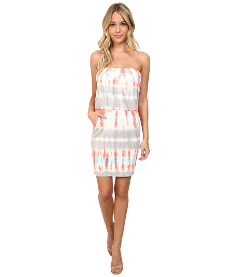 Young Fabulous & Broke - Freya Dress (Coral Bamboo Wash) Women