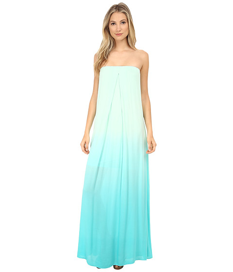 Young Fabulous & Broke - Karissa Maxi (Turquoise Ombre) Women's Dress