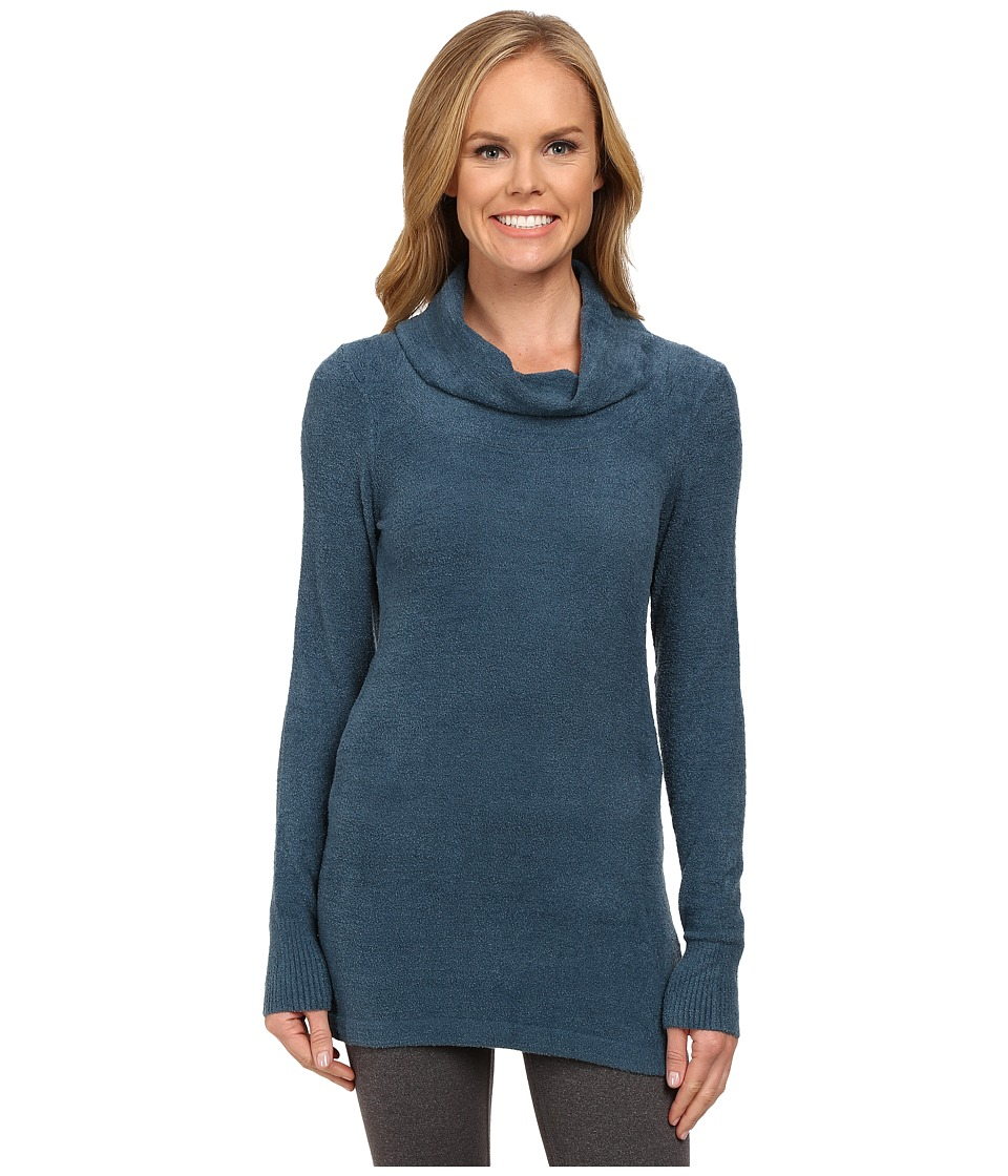 ExOfficio - Irresistible Dolce Cowl Neck Sweater (Marina) Women's Sweater