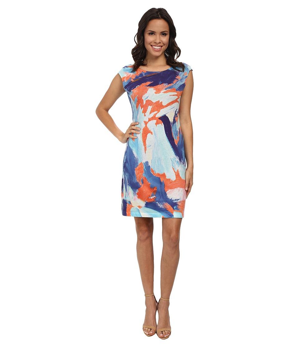 Nally & Millie - Handpaint Reversible Dress (Multi) Women's Dress
