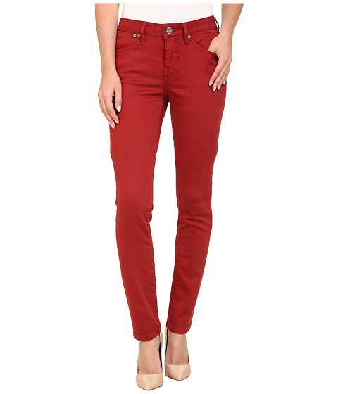 Jag Jeans - Janette Mid Rise Slim Knit Denim in Cayenne (Cayenne) Women