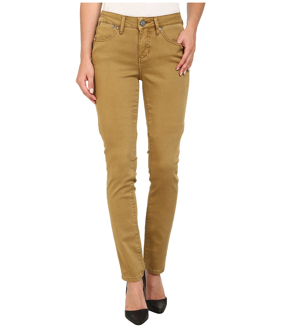 Jag Jeans - Janette Mid Rise Slim Knit Denim in Goldie (Goldie) Women's Jeans