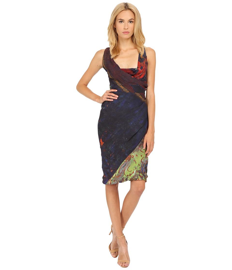 Vivienne Westwood - Les Orientales Fluid Short Amber Dress (Sherazade) Women's Dress