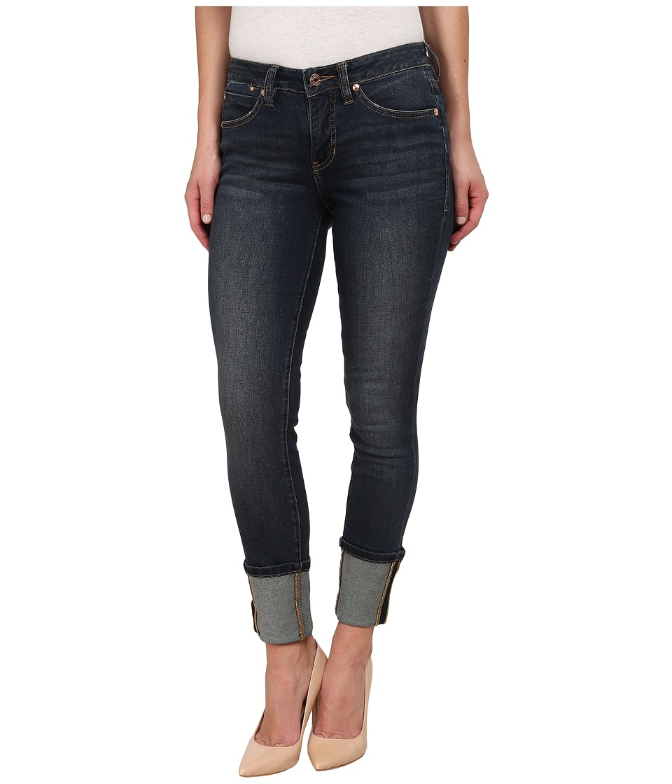 Jag Jeans - Evan Long Cuff Mid Rise Slim Ankle Capital Denim in Melrose (Melrose) Women
