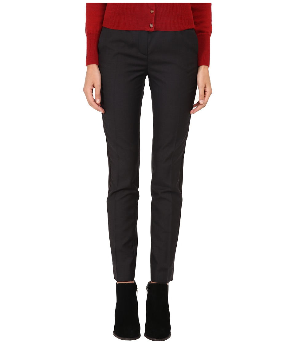 Vivienne Westwood Red Label - Classic Fine Wool Tuxedo Trousers (Black) Women's Dress Pants