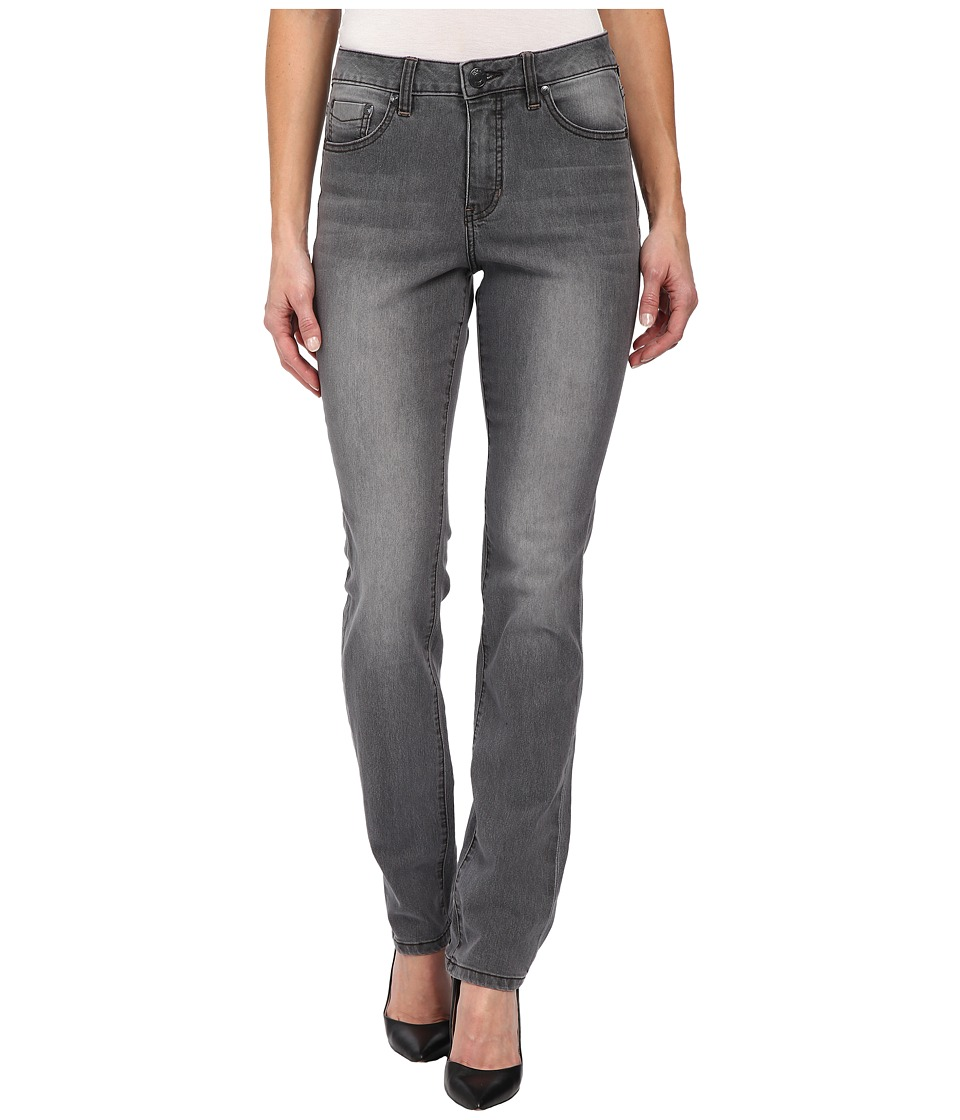 Jag Jeans - Sydney High Rise Straight Alpha Denim in Industrial Grey (Industrial Grey) Women's Jeans