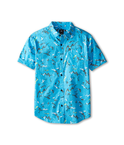 Quiksilver Kids - Warsplash Reverse (Big Kids) (Hawaiian Ocean) Boy's Clothing