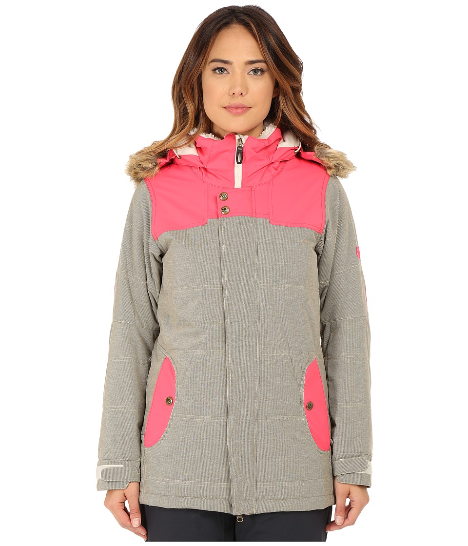 686 - Authentic Runway Insulated Jacket (Ivory Pincord) Women's Jacket