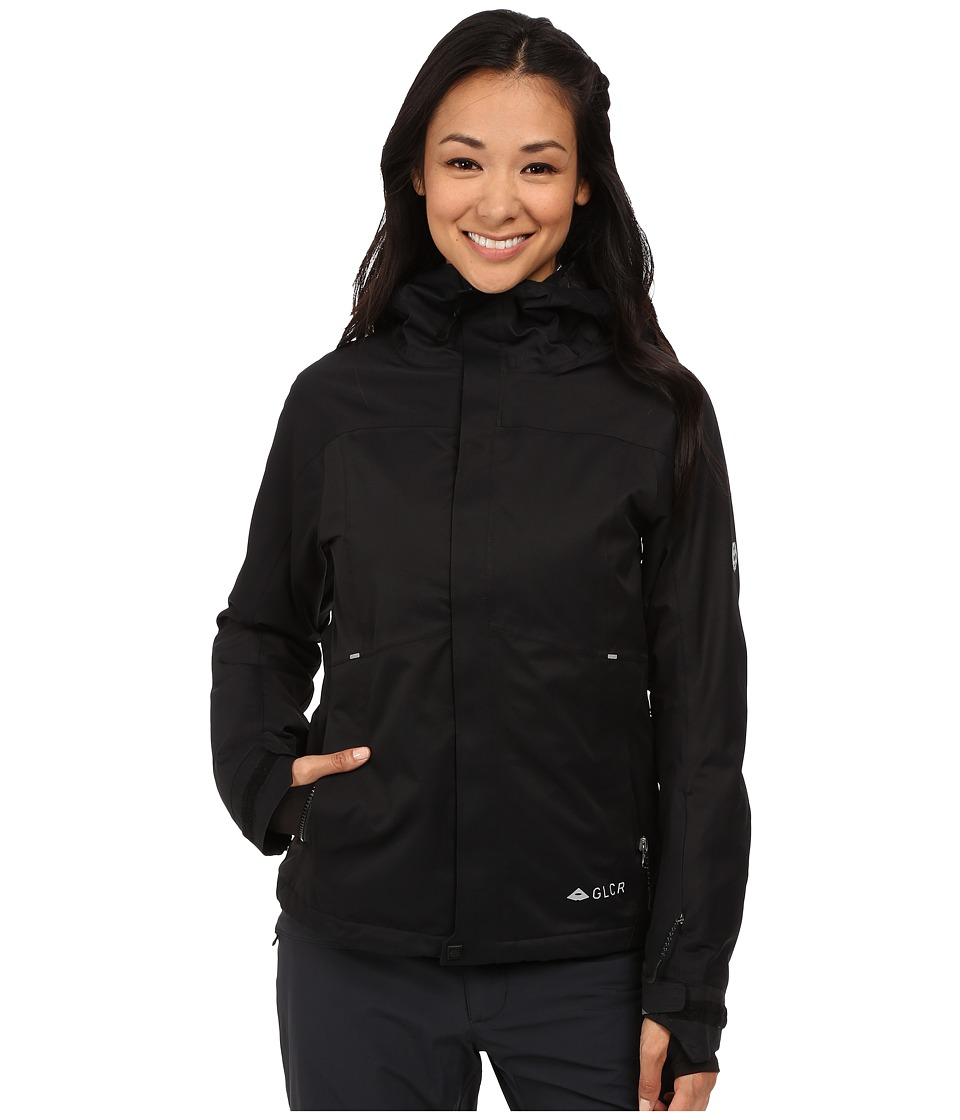 686 - GLCR Aura Jacket (Black Diamond Dobby) Women's Coat